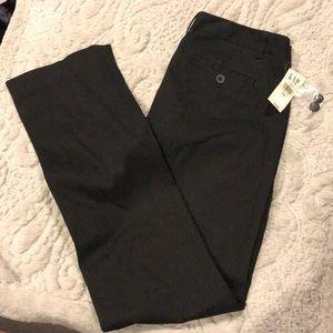 Gap black cotton stretch pants Size 4